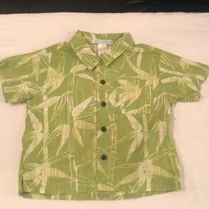 Baby Boy Tropic Print Top